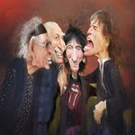 One for @RollingStones fans - my artwork for the cover of the Weekend lift out in todays @nzherald http://t.co/Ad89HPUkMh