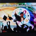 Los #EstudiantesConLaRevolucion pintamos la Universidad, de negro, de blanco, de mestizo con los colores del Pueblo. http://t.co/o3HMPeXvLf