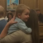 Its national adoption day. Im at The courthouse and this little guy is one of many getting a permanent home! #kxly http://t.co/zqkGkxlCZi