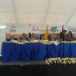 Gerente @BancoEstadoEc, Verónica Gallardo, y alcalde #Atacames, @ByronAparicioC. @MashiRafael #SomosPatria (1/3) http://t.co/g3MTCqMIkc
