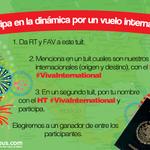 ¡PARTICIPA POR  UN VUELO REDONDO  INTERNACIONAL!    #VivaInternational  Consulta las bases: http://t.co/J8Aza8Pw0D