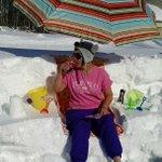 @WKBW @7FirstAlert my Mama Evelyn Reinhardt enjoying the weather in Hamburg #BuffaloSnow #snovember http://t.co/FSLbvPYeM4