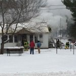 Crews fighting flames at a home on North Shore Drive http://t.co/PvLJs5eYOR http://t.co/RwMPvCnzqh
