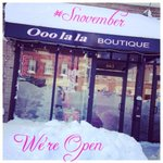 We are open! Take that mister #Snovember and were offering a #snovember discount today! #EastAurora #ooolalaboutique http://t.co/Y5rMpEoMsC