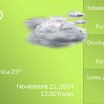 Buenas tardes, la temperatura en #Tampico #Tamaulipas #MEX es de 23°C. http://t.co/rGqLU9a80A