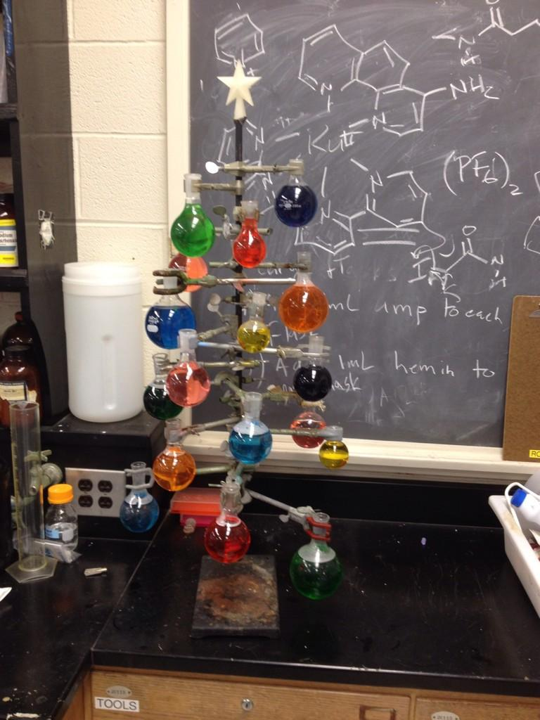 There's been a chemistree sighting in my lab ... http://t.co/0XicpAhsWO