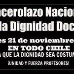 """@LuisEdoAguilera: #CacerolazoNacionalDocente @DonDatosCl @DonDatos RT http://t.co/8aRxSLRQt4"""" a cacerolear!"