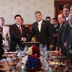 #Ecuador y #Paraguay fortalecen relaciones bilaterales con #VisitaOficial de Presidente Cartes http://t.co/ZcVVZL4dbM http://t.co/n8ao5lg8Y4