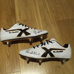 Winner of these signed @richardhibbard2 boots drawn after the Wales v NZ game. RT for chance to win. @XBladesSports http://t.co/k8dqEaypiD