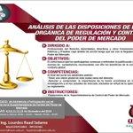 @AbogadoECU ANALISIS DE LA LEY ORGANICA -PODER MERCAD INICIO: 4 DE DICIEMBRE INFO:0993592461 dec.asesor1@uees.edu.ec http://t.co/BuP2jzJ96W