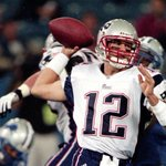 Tom Brady faces the Lions Sun., the same team he made his NFL debut against 14 yrs ago to the day! Brady: 1-3, 6 yds http://t.co/pd811Xdwly
