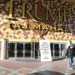 Trump Taj Mahal set up a sign announced plans to close December 12 #acpress http://t.co/I7G8oq4k8s
