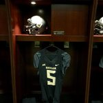 Getting the locker room all setup for #EveryoneinBlack #SicOSU http://t.co/9WVWubNfCP
