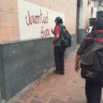 #Graffitis fueron pintados en el patrimonio histórico de #Quito en la marcha #19N --> http://t.co/rKSSAJrRAJ http://t.co/wb59xZ7sSg
