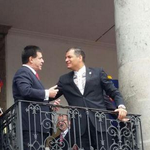 #PAÍS Presidente Correa y Presidente de Paraguay reunidos para fortalecer relaciones laborales http://t.co/VQDBCcvBst http://t.co/qdj2XfSNii