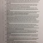 """Here is the list of Ferguson protesters proposed """"rules of engagement"""" and the unified police commands responses http://t.co/fjnQJUgebP"""