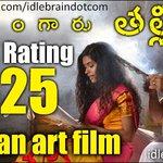 My review of Naa Bangaru Thalli http://t.co/yIUTEoyPii
