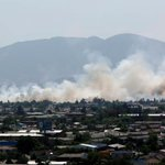 Incendio de pastizales afecta a Parque Bicentenario en Cerrillos http://t.co/G2cekOzkjg http://t.co/f1sbPVhuXA