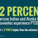 Native children have the same rate of PTSD as combat veterans http://t.co/m1ZBylxY32 http://t.co/lgB5GcwDRq
