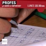 Quiénes estudiar para ser #Profes en Chile? Puede cualquiera ser maestro? #InformeEspecial LUNES @24HorasTVN http://t.co/du5Plqe3fs