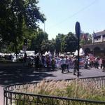 ACTUALIZADO 8 mil personas marcharon por la salida de Jaime Gajardo en la Alameda. #ParoDocente http://t.co/7j0GTFfiaY