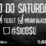 Heres your #EveryoneInBlack checklist. RT if youre ready to help check that last box. #SicOSU http://t.co/0C7FKkDcbY