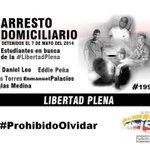 estos son los 5 estudiantes larenses q celebran el #DiaDelEstudiante con 199 días BajoArrestoDomiciliario #Venezuela http://t.co/BPVjj3AIca