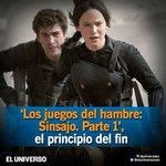 Llega a #Ecuador la tercera entrega de la saga 'Los juegos del hambre': http://t.co/o1SPuRijuU http://t.co/gZ1ZNG0G75