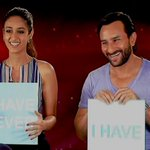 #HappyEnding stars Saif Ali Khan & @Ileana_Official on chemistry & ageing: Now Showing, 8.30pm & 11.30pm, CNN-IBN