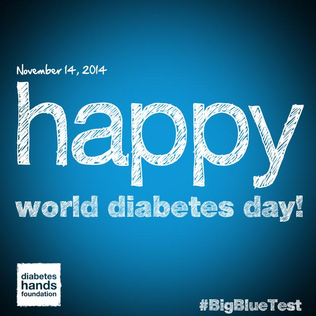 Wishing everyone a VERY HAPPY #WorldDiabetesDay :-) #Doc #dsma #pwd #cwd ##wdd #WDDchat14 http://t.co/BdelSUIkmo