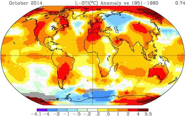 Earth just had its warmest Oct on record as world nears its warmest year http://t.co/lmL5xlEgPv http://t.co/C8Lw4LcCnH #onmyagenda #g20