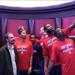 "Thank you DETROIT! What a great time! ""@DetroitPistons: Let's Wrap! We're backstage  ! http://t.co/cIfLR0LFEC http://t.co/9uzDmuxTbP"""