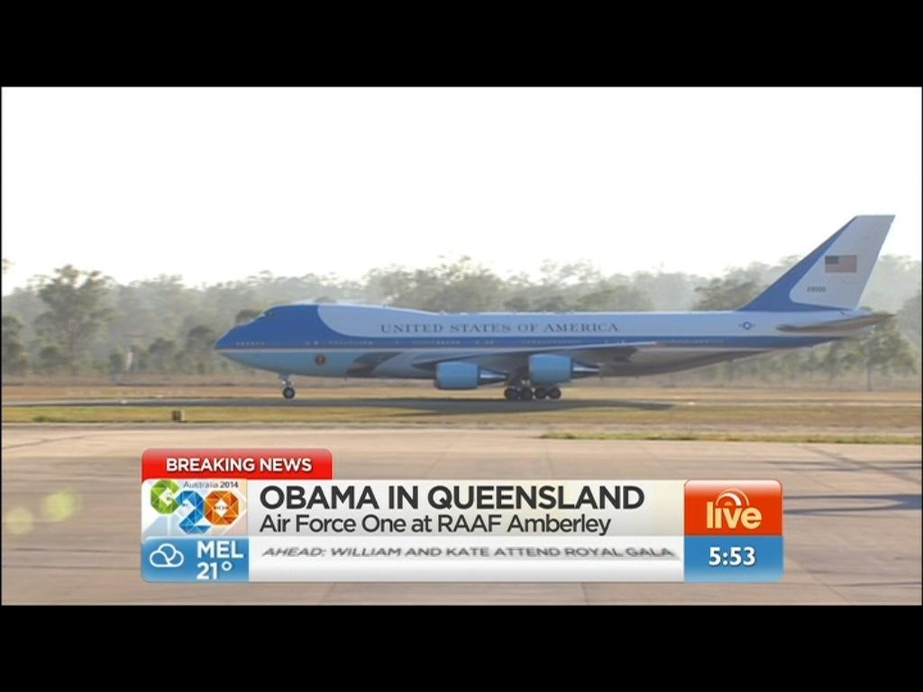 Welcome to Brisbane! #G20 #G20Brisbane http://t.co/zE0h0Kg1gw