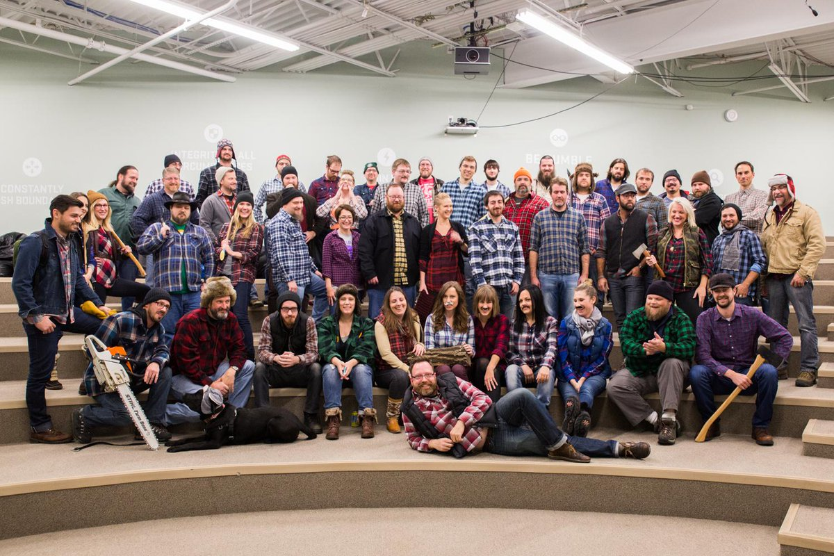 We were recently called out in @TheGearJunkie's article on the #lumbersexual fashion trend. Today we embraced it. http://t.co/k9lXn3pnFa