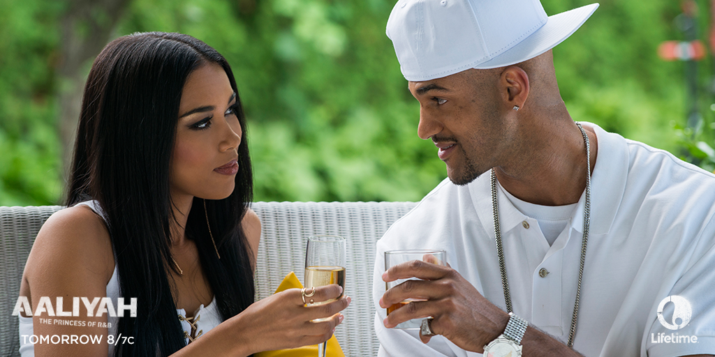 Less than 24 hours until the premiere of Aaliyah: Princess of R&B! Will you be watching? #AaliyahMovie http://t.co/A14u8Ti1xQ