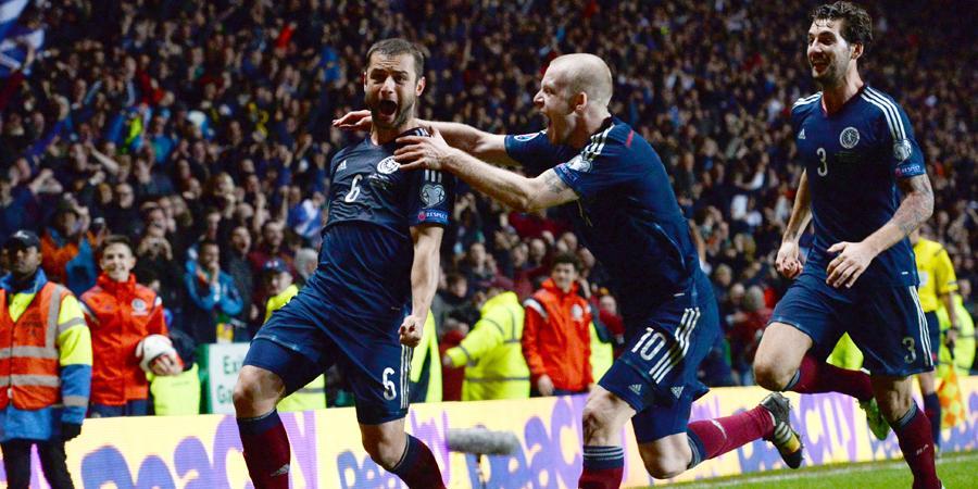 FULL TIME | Scotland 1-0 @FAIreland | Maloney's goal seals a majestic victory! #SCOIRL #WeAreScotland @EuroQualifiers http://t.co/4YaaEZBR9D