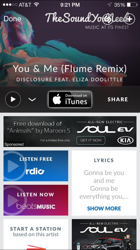 Disclosure - You & Me (Flume Remix) by Flume | Free