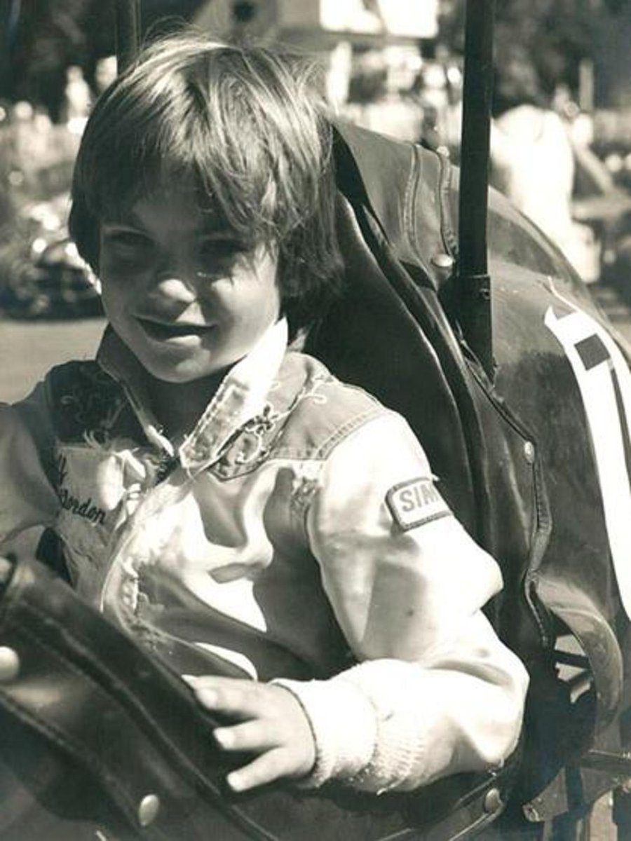 1977; @JeffGordonWeb at age 6. Now, a 4x Champ, (7x Winston Cup Champ), *Soon to be 5X Champ in 2015 & Hall of Famer. http://t.co/tuZ3G9853h