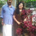 My lovely sweet parents..love u Amma and Achan ..the real unconditional love http://t.co/K3mMCtsxba