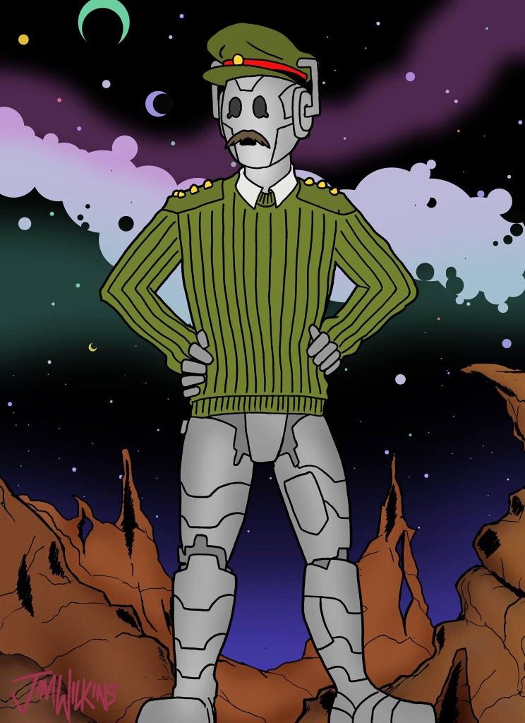 Behold the Cyber-Brig!  #DoctorWho #CyberBrig #Cybermen http://t.co/pxDQHOwrs7