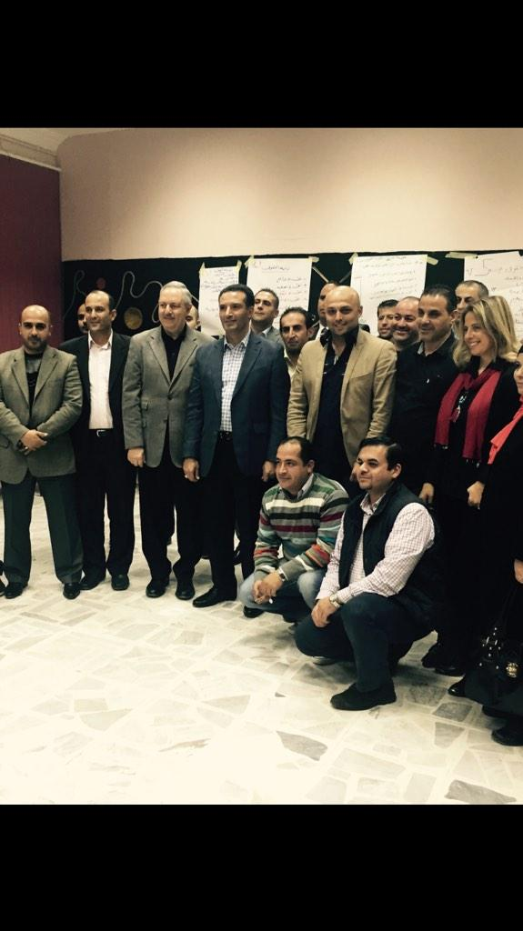 جلسة نقاشة سياحية مع #ملتقى_الفكر_السياسي #الاردن http://t.co/0AtjG08sGv