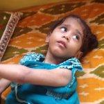 She is Alakananda .. Brain is in liquid form n completely blind ... #icha foundation