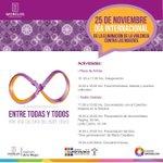 25 de noviembre, Día Internacional de la Eliminación de la Violencia Contra las Mujeres. #Cuernavaca #Morelos http://t.co/Btp1tVeTRi