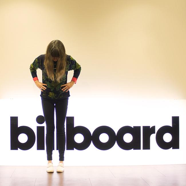 This happened... Thanks to the lovely people over at @billboard for hanging yesterday!! (photo by @yaypineapples) http://t.co/wB55q1VLGQ