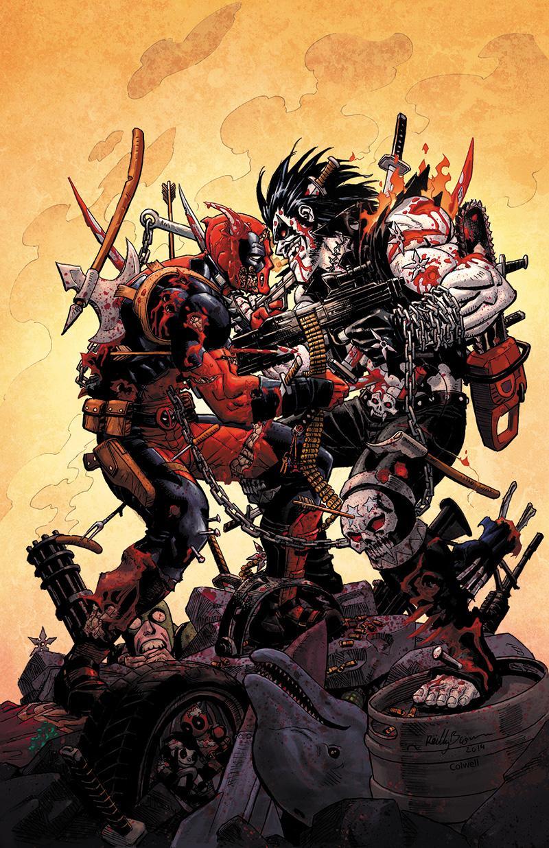 Deadpool VS Lobo par ReillyBrown http://t.co/lWhqujKg3f