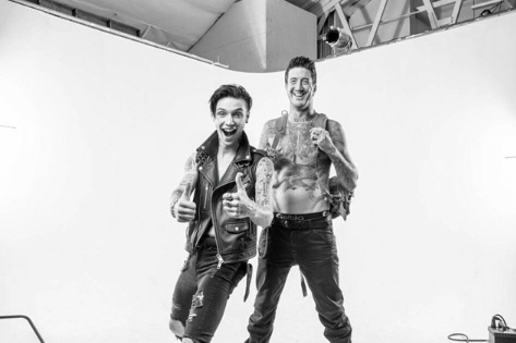 Austin Carlile and Andy Biersack. http://t.co/J12hpTzFSA