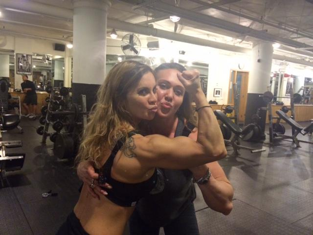 Old friends, all love & all muscle!  Check us out!! @collettenelson http://t.co/7bY0YjwcAC