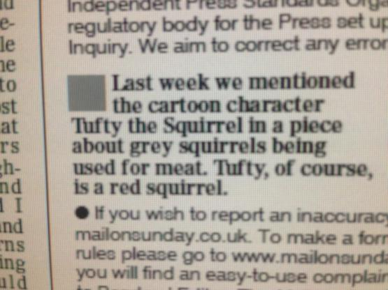 One of the all-time great corrections on page 2 of the MoS tomorrow #tomorrowspaperstoday http://t.co/OPrzrQPBeD