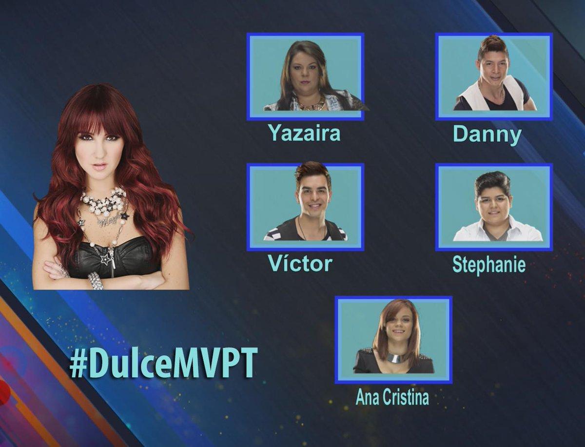 ¿Crees que el equipo #DulceMVPT merece ganar? ¡Haz RT si este es tu equipo! http://t.co/f1IaKwAhvU