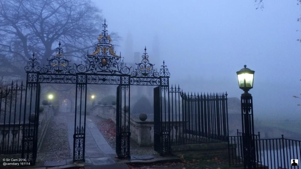 A foggy Sunday morning in Cambridge. http://t.co/SC4xSciqrD
